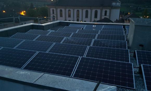 Immeuble locatif photovoltaïque