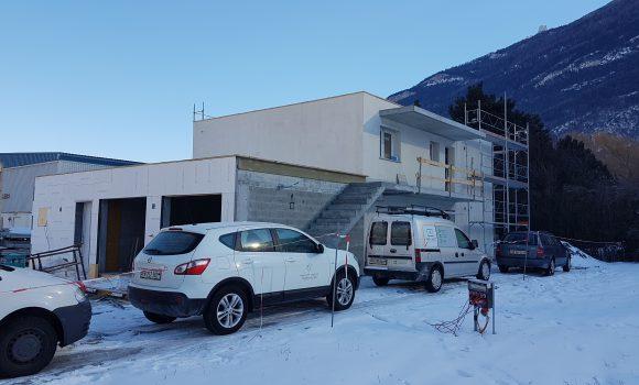 Immeuble habitation- Charrat (VS)