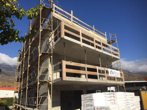 Immeuble habitation/commerce – Conthey (VS)